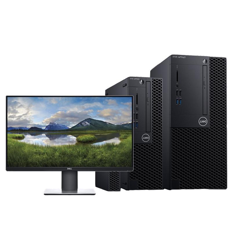 OptiPlex 3070 Tower 260187(I3-9100处理器/4G内存/128G固态 +1T硬盘/集显/DVDRW/硬盘保护/19.5显示器)